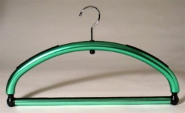 Green Hanger with Pant Bar